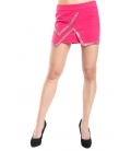 DENNY ROSE Skirt dress with strass FUXIA 52DR72001