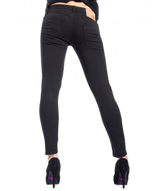 DENNY ROSE Jeans slim fit with studs BLACK 52DR22007