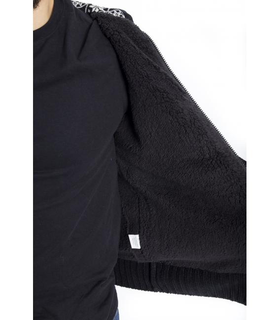 BAKER'S Maglione con cappuccio BLACK Art. D5839