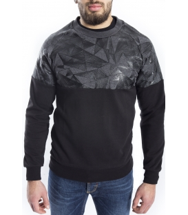 ANTONY MORATO Sweatshirt man with print BLACK art MMFL00165