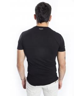 ANTONY MORATO T-shirt MAN with print BLACK MMKS00777