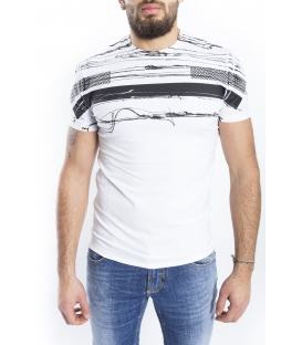 ANTONY MORATO T-shirt MAN with print WHITE MMKS00780
