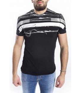 ANTONY MORATO T-shirt MAN with print BLACK MMKS00780