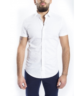 ANTONY MORATO Shirt MAN short sleeve WHITE MMSS00086