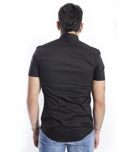 ANTONY MORATO Shirt MAN short sleeve BLACK MMSS00086