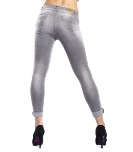 MARYLEY Jeans woman slim fit push-up GREY Art. B690/G9B