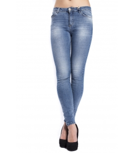 MARYLEY Jeans woman vita alta DENIM Art. B637/G49