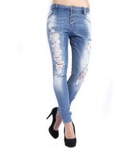 MARYLEY Jeans woman boyfriend baggy DENIM Art. B60S/RDVI
