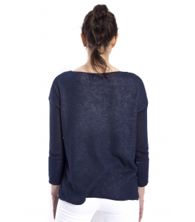 SUSY MIX Double sweater BLUE art. 601