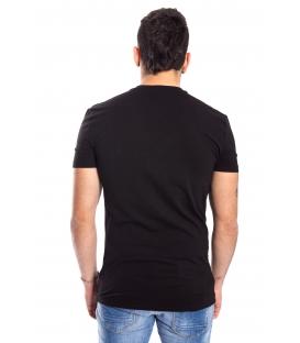 ANTONY MORATO T-shirt MAN with logo BLACK MMKS00738