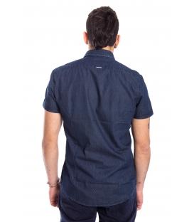ANTONY MORATO Shirt MAN in fantasy BLU DENIM MMSS00100