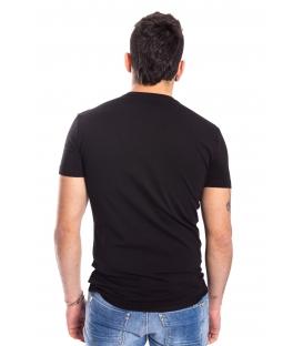 ANTONY MORATO T-shirt MAN with logo BLACK MMKS00739