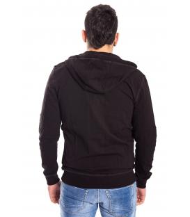 ANTONY MORATO Sweatshirt MAN wit hood BLACK MMFL00217