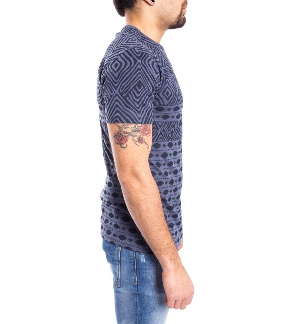 ANTONY MORATO T-shirt MAN with print INDIGO MMKS00834