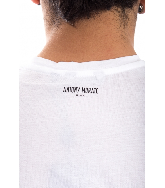 ANTONY MORATO T-shirt MAN with print WHITE MMSW00790