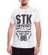 STK SUPER TOKYO T-shirt MAN with print WHITE 1526