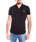 ANTONY MORATO Polo MAN with logo BLACK MMKS00737