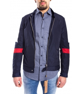 ANTONY MORATO Jacket MAN with white band BLU MARINE MMCO00311