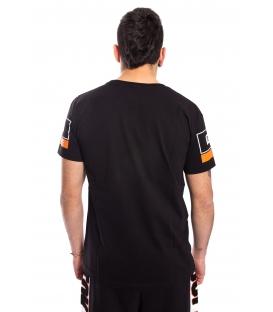 STK SUPER TOKYO T-shirt MAN with print BLACK 1462