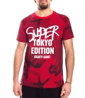 STK SUPER TOKYO T-shirt MAN with print RED 1430
