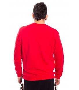 STK SUPER TOKYO Sweatshirt MAN with print RED 1371
