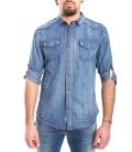 Camicia jeans UOMO in fantasia DENIM Art. A459