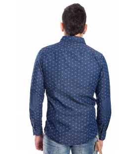 Camicia jeans UOMO in fantasia DENIM Art. ZN-828