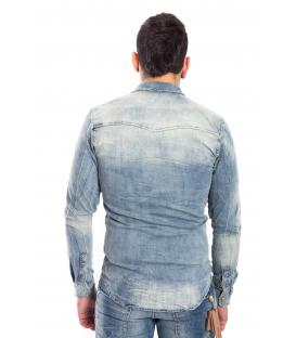 Shirt MAN with stain DENIM Art. J-9026