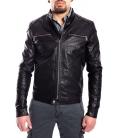 Jacket MAN in eco-leather BLACK Art. FL-2216