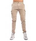 Pantalone UOMO con tasconi BEIGE Art. 8305