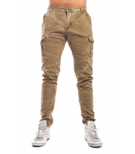 Pants MAN with pockets MILITARE Art. 8305