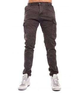 Pants MAN with pockets BRAUN/BLACK Art. 8305