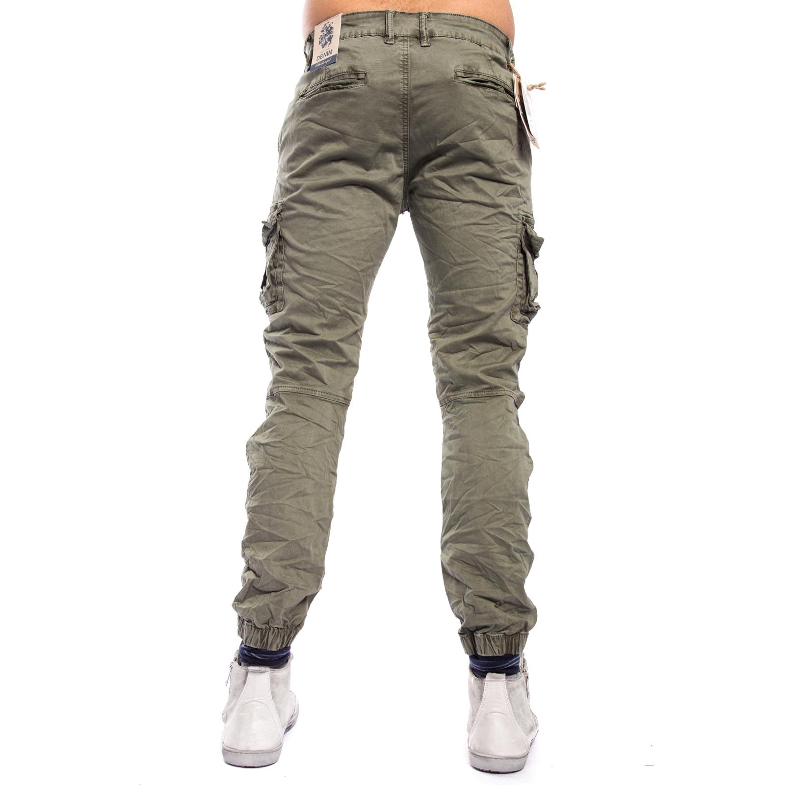 Pantaloni Uomo Elastico In Con Fondo bgyIf6vY7