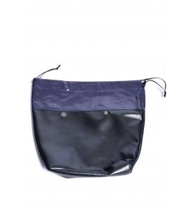 Canvas con coulisse in tessuto spalmato blu per O Bag Mini