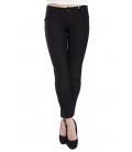 RINASCIMENTO Pants with zip BLACK Art. CFC0072781003