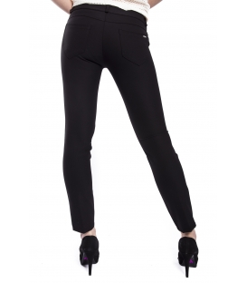 RINASCIMENTO Pants with zip BLACK Art. CFC0072781003