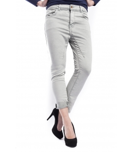 RINASCIMENTO Jeans boyfriend with zip GRIGIO PERLA Art. CFC0072609003