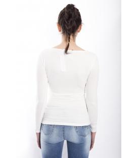 RINASCIMENTO Maglia T-shirt BIANCO Art. CFC0072324003