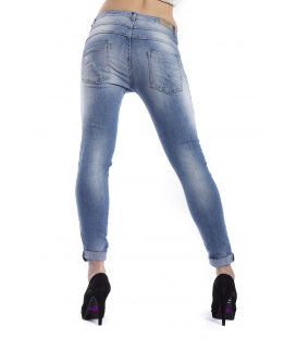 MARYLEY Jeans woman boyfriend baggy DENIM Art. B60S/G3L
