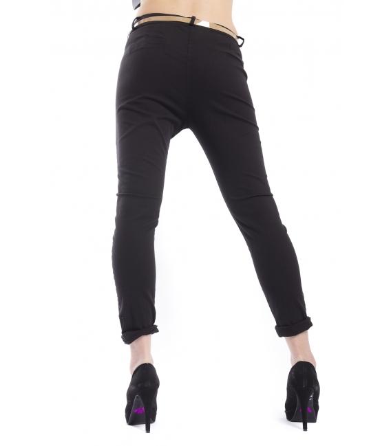 ZIMO Pants woman boyfriend baggy BLACK Art. 3015