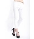 ZIMO Pants woman boyfriend baggy WHITE Art. 3015