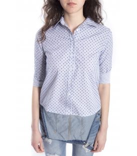 ZIMO Shirt in fantasy with stripes BLUE Art. 2315