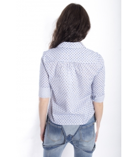 ZIMO Camicia in fantasia righe BLU Art. 2315