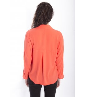 Shirt WOMAN with buttons CORAL Art. 9140