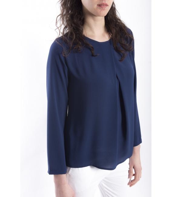 Jersey WOMAN long sleeve BLUE Art. 6077