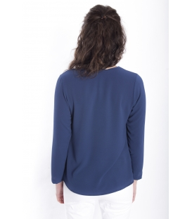 Jersey WOMAN long sleeve BLUE Art. 6077