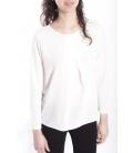 Jersey WOMAN long sleeve WHITE Art. 6077