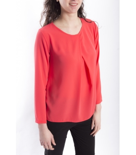 Jersey WOMAN long sleeve CORAL Art. 6077