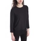 Jersey WOMAN asymmetric BLACK Art. 6076