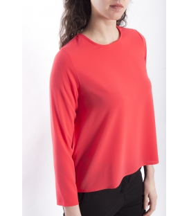 Jersey WOMAN asymmetric CORAL Art. 6076